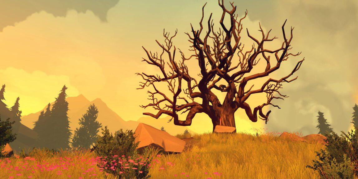 Szene aus Firewatch, Screenshot